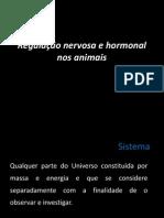 Regulação nervosa e hormonal nos animais
