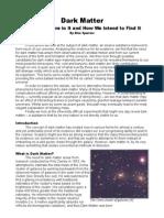 essay dark matter