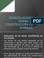 Generalidades sobre la construcción de bombas