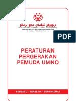 PERATURAN Pergerakan Pemuda UMNO