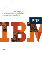 IBM TRIRIGA- The Power of True Integration in Workplace Management Solutions