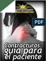 Contracturas, guÝa para el paciente