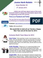 Inclusion North Bulletin 32