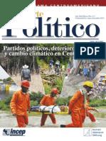 Partidos Politicos, deterioro ambiental y cambio climàtico en Centroamerica.
