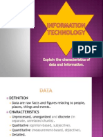 Lecture 7 B Data and Info.
