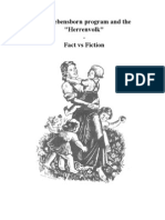 "The Lebensborn Program and The ""Herrenvolk"" - Fact vs Fiction"