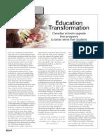Education Transformation Fall 2009