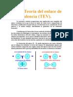 teoria de enlace de valencia