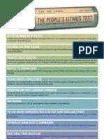 People's Litmus Test