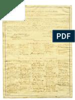 Original 13th Amendment Signed by Abraham Lincoln