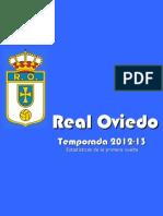 Real Oviedo 2012-13 Primera Vuelta