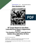 Military Resistance 11A5 KIA