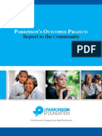 Parkinson's Outcomes Project:Report to the Community