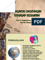 pengaruh lingkungan terhadap kesehatan