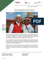 07-01-13 Boletin 1116 Fortalece Roberto la ganadería en la sierra nayarita
