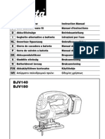 Makita BJV180 Manual