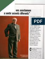 Joan Veny i la importància dels dialectes