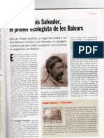 S'Arxiduc, El Primer Ecologista de Les Balears