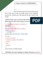 Compress Parameter in EXP&IMP