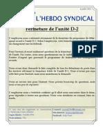 16. l'Hebdo Syndical 4 Juillet 2012