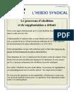 20. l'Hebdo Syndical 17 Octobre 2012