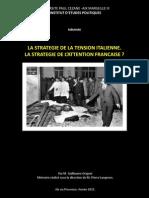 La Stratégie de la tension italienne. La Stratégie de la tension française ?