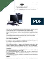 GUIA 09 Configuracion de Pc Para Uso Basico