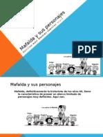 Mafalda y sus personajes-Horacio Germán García
