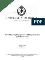 Global Sourcing Strategies