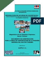Diagnostico Pequena Empresa Turismo en Rd