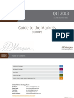 Guide to the Markets Quarterly Europe Q1 2013