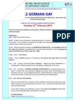 A2 German Conference February 2013 Flyer