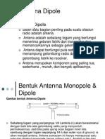 Antena Dipole dan Reciprocal