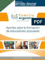 Aportaciones para la formación e Educadores popuares