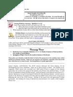 Bulletin - January 6, 2013