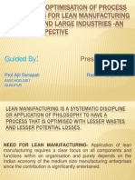 thesis on lean
