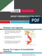 RENEW Presentation 2012