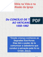 As Etapas Da Caminhada Biblica Do Vat. I Ao Vat. II