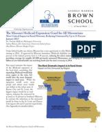 Missouri Budget Project Report