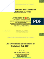 Air (Prevention of Pollution) Act
