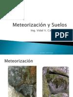 Meteorización y suelos