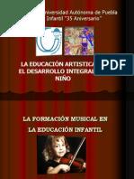 La educacion artistica en el desarrollo integral del niño