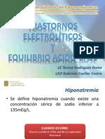 PRESENTACION TRASTORNOS ELECTROLITICOS