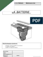TP 1.5A La Batterie