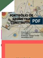 Portfólio Geometria Construtiva