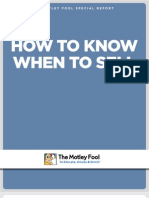 How to Know When to Sell