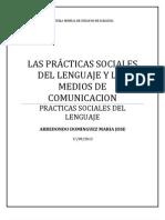 Ensayo Practicas Sociales del Lenguaje