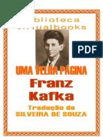 Franz Kafka - Uma Velha Pagina
