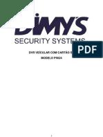 Manual DVR Veicular SD