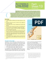 Water & Sanitation in the Access Restricted Areas of the Gaza Strip